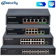 4 8 16 24 포트 네트워크 이더넷 Poe 스위치 기가비트 48V 무선 AP 250M IEEE 802.3 af/at PoE 카메라 IP 용 이더넷 오버 이더넷