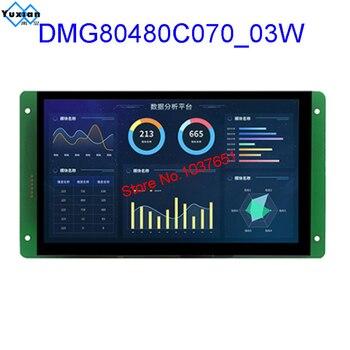 DMG80480C070_03W DMG80480C070_03WTC DMG80480C070_03WTR Smart Lcd Module DGUS Dwin