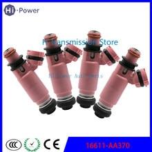 4 Uds 16611-AA370 16611 AA370 550cc inyector de combustible boquilla para Subaru WRX STI Forester Impreza 2.0L 2.5L boquilla para combustible 195500-3910