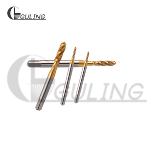 Image 3 - 2PCS 5PCS HSSE Right Hand With Tin Sprial Fluted Titanize tap M3 M3.5 M4 M4.5 M5 M5.5 M6 M7 M8 M9 Metric Screw Thread taps