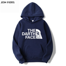 JOH FIERS 2019 New Sale Anime One Piece Costume Hoodies THE DARTH FACE Printing Pullover Sweatshirt Harajuku Unisex Clothing