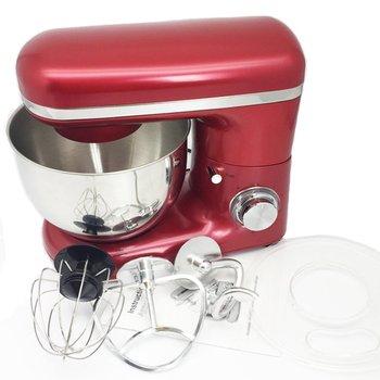 1500W 4L Stainless Steel Bowl 6-speed Kitchen Food Stand Mixer Cream Egg Whisk Blender Cake Dough Bread Mixer Maker Machine