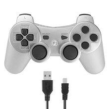 Bezprzewodowy kontroler z bluetoothem dla SONY PS3 Gamepad dla Play Station 3 Joystick dla Sony Playstation 3 PC dla Dualshock Controle