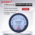 OUTEST TE2000 Дифференциальный Манометр 100 кПа внутренний/наружный диаметр точность сопротивления давления 0-30 па ~ 0-30 кПа на выбор