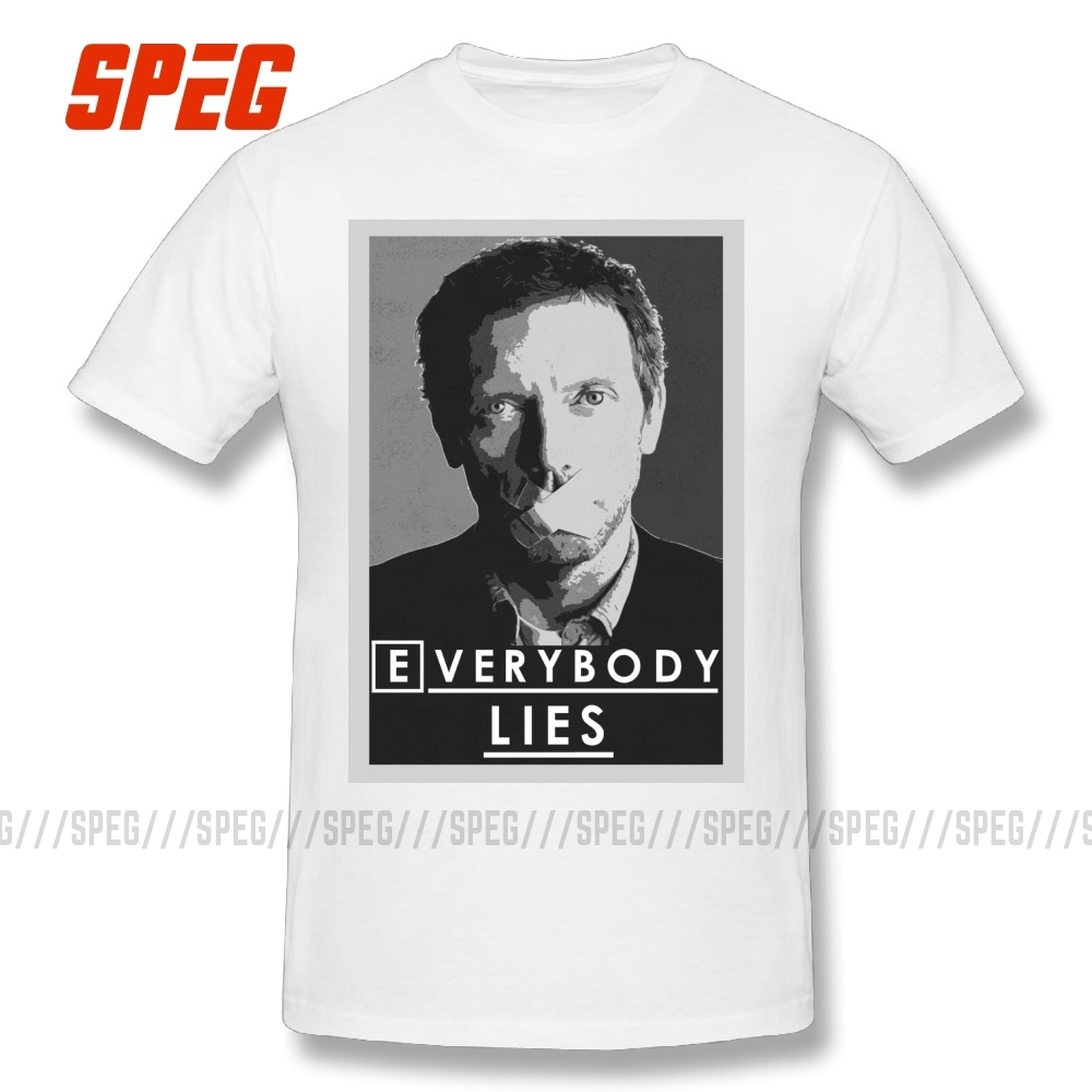 Men T Shirts Everybody Lies T Shirt Dr House