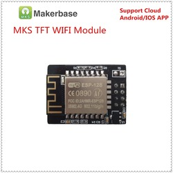 Mks tft wi-fi módulo de controle remoto impressão 3d controlador sem fio wi fi app monitor esp8266 chip para mks tft tela toque
