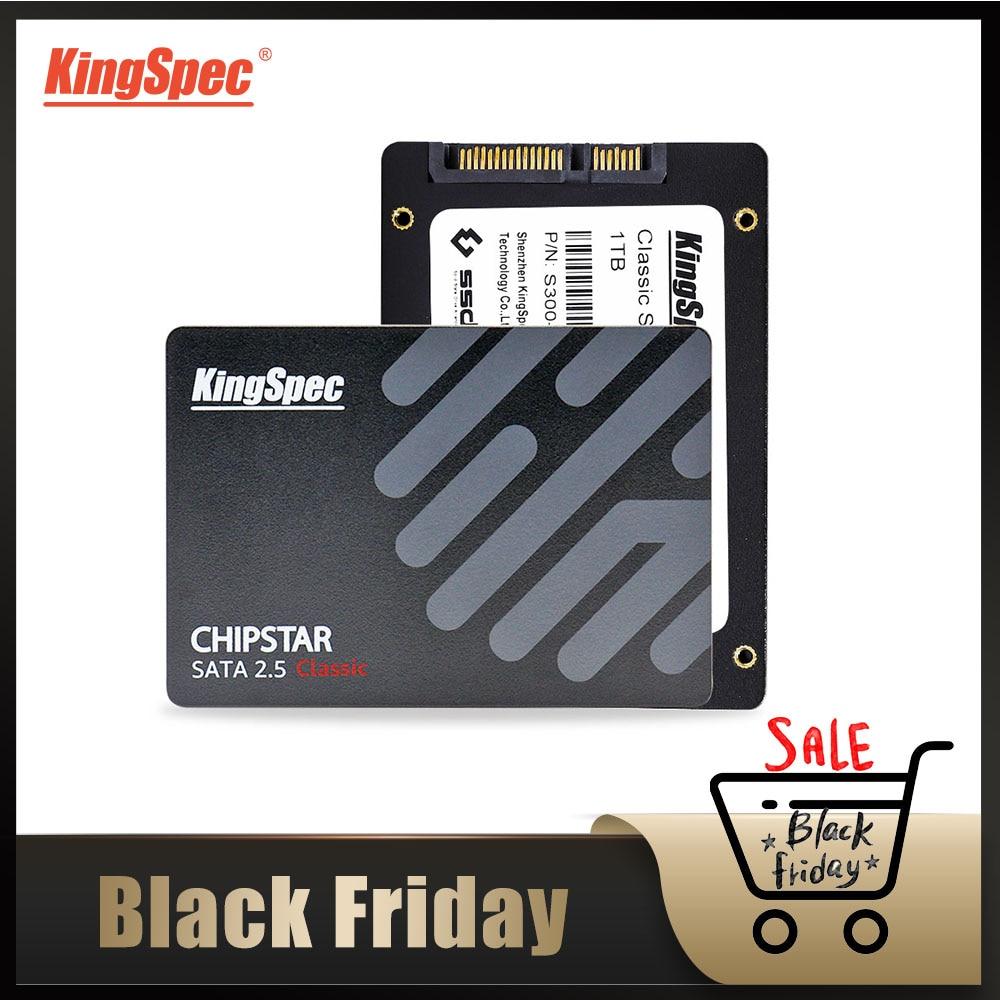 KingSpec 2.5 Pouces SATAIII hd S300 SSD 128 GO 256 GO disque dur ssd 512 GO à 1 TO 2 TO disque dur SSD de 64 GO pour ordinateur portable pc de bureau portable
