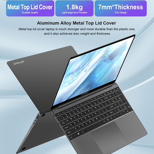 Newest Teclast F15S Windows 10 Laptop 15.6 Inch Notebook 6GB/8GB RAM 128GB ROM Intel Apollo Lake Laptops 1920x1080 FHD Dual Wifi 5