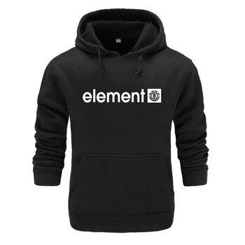 NEW clothing 2019 Spring Brand Mens Hoodies Sweatshirts Men High Quality ELEMENT Printing Long Sleeve Fashion