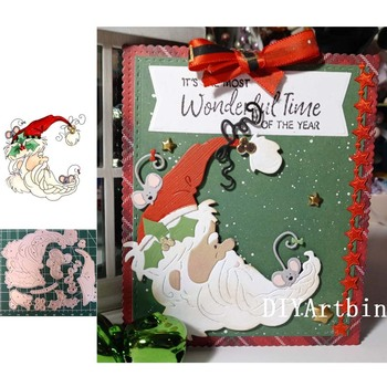 New Dies For 2020 Christmas Santa Claus Metal Cutting Embossing Scrapbooking Stencil Craft Cut DIY Card Handmade - discount item  20% OFF Arts,Crafts & Sewing