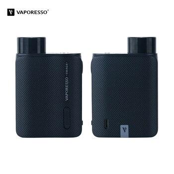 Vaporesso – Cigarette électronique Swag 2 Box originale, alimentée par une seule batterie 18650, réservoir 510 fils