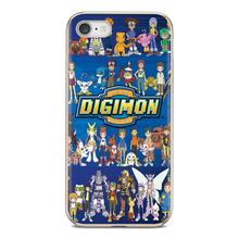 Silicone Skin Cover cartoon Digimon Adventure Tri For Samsung Galaxy A10 A30 A40 A50 A60 A70 S6 Active Note 10 Plus Edge M30(China)