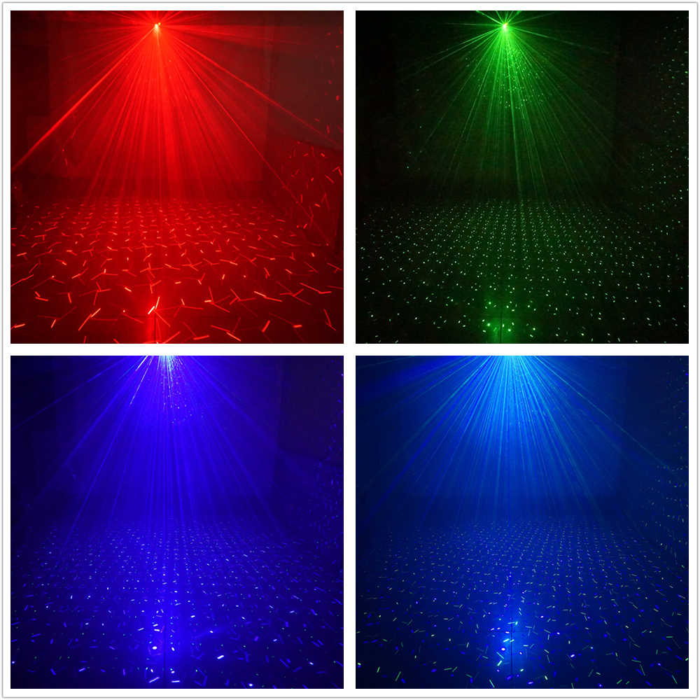 Sharelife מיני DJ כוכב Galaxy RGB Deluxe לייזר מקרן אור מרחוק בית מופע מסיבת חתונה שלב תאורת אפקט SL100RGRB