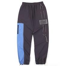 A-COLD-WALL темно-серые спортивные брюки Модные мужские и женские ACW функциональные тактические мульти-комбинезоны с карманами A-COLD-WALL брюки на шнурке