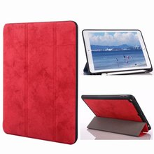 Slim Smart Protective Case For iPad Pro 12.9 2017 2015 Funda with Pencil Holder