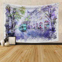 Scenery Wall Hanging Tapestry Background Boho Decor Fabric Wall Tapestry Wall Carpet Dorm Decor for Bedroom Wall Home Decoration feather fabric wall hanging home decor tapestry