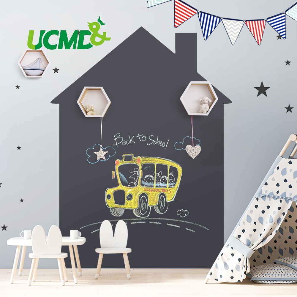 Hold Magnets Removable Chalkboard Office School Home Room Decoration Wall Sticker Blackboard Kids Painting Educational Toy Gift