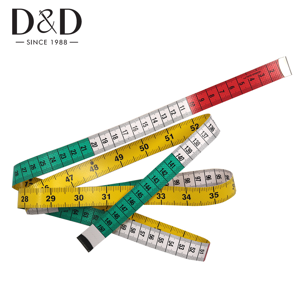 "New Soft Fabric Cloth Tape Measure Ruler Dual Side Tailor Metric 60/"" 150cm US"