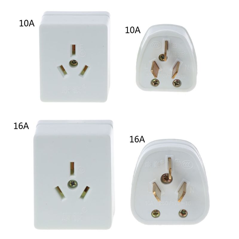 86 Type AC 250V 10A 16A Electrical Wall Socket 3 Pin Plug Wall Outlet Plate Panel White For Air Conditioning wholesale
