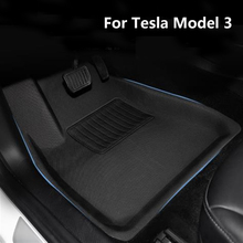 Fully Surrounded Special Foot Pad For Tesla Model 3 Waterproof Non-Slip trunk Floor Mat TPE XPE Modified Accessories 2013-2021