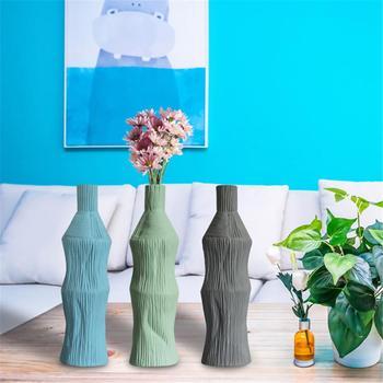 Vaso de flor cerâmica decorativo bud hidroponia recipiente mesa decoração para casa centrais vaso ikebana organizando decoração para casa