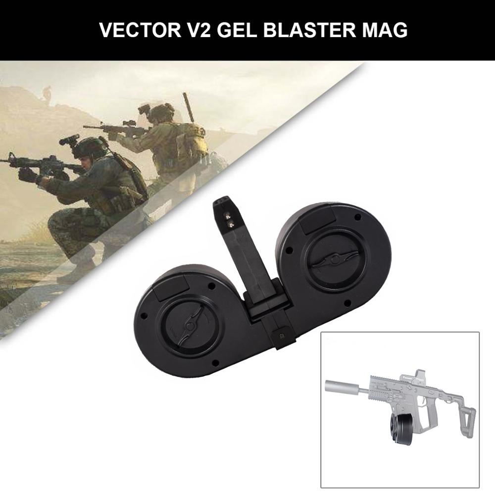 Mag Drum For Vector-V2 Gel Ball Blaster Magazine Drum Upgrade Clip Replacement Accessories