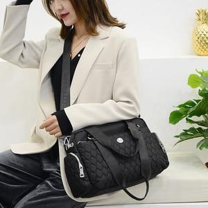 Image 5 - Women Top handle Shoulder Bag Designer Handbags Nylon Female Messenger Bags Casual Shopping Tote Bolsas Sac A Main Crossbody Bag