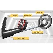 N7MD Metal Detector LCD Gold Hunter Sensitive Water-Resistant Underground Adjustable
