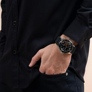 Image 2 - Récif tigre/RT Sport montres pour hommes bracelet en Nylon automatique Super lumineux en acier montre de plongée avec Date RGA3035