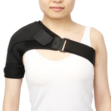 Practical Gym Sports Health-care Single Shoulder Protection Adjustable Breathable Back Support Belt Durable Brace Strap