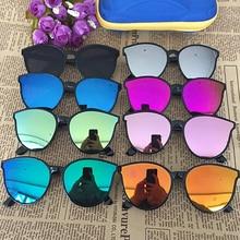 1pc Children Cat Eyes Sunglasses Square Glasses Kid Girl Boy Stylish Goggles Baby Student Eye Glasses Shades Party Eyewear Uv400