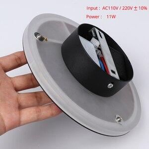 Image 5 - Led Wandlamp Met Touch Schakelaar Slaapkamer Bed Wandlamp Indoor Trap Verlichting Lamp Armatuur Ijzer En Acryl Materialen 11W