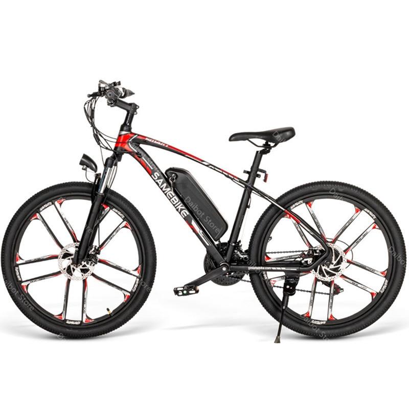 SAMEBIKE MY-SM 26 Elektrische Mountainbike Zwei Räder Elektrische Fahrräder 350W 48V 384WH 21 Geschwindigkeit System Elektro-scooter erwachsene
