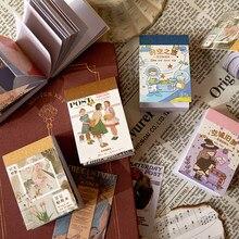 Vanyi 6 projetos 80 pçs/lote moderno feriado artigos de papelaria decoração diária adesivos kawaii suprimentos scrapbooking planejador bala diário