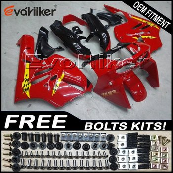 Custom fairing motorcycle bodywork kit for ZX-9R 1994-1997 ABS motor panels red+gifts