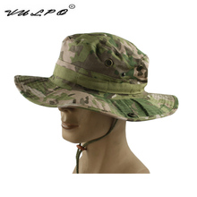VULPO Camouflage Tactical Airsoft Sniper Boonie hat Hunting