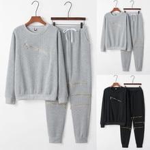 Осенне-зимний спортивный тренировочный женский костюм, винный пуловер, топ, рубашки, набор для бега, тренировочные костюмы, спортивные штаны, 2 шт., спортивная одежда# g3