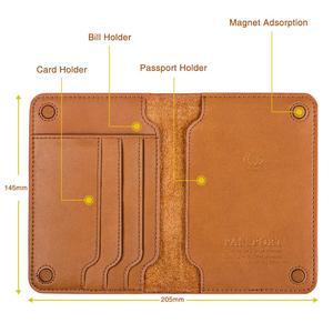 Image 3 - قسط جلد طبيعي حامل جواز سفر غطاء جواز سفر روسيا وثائق محفظة سفر