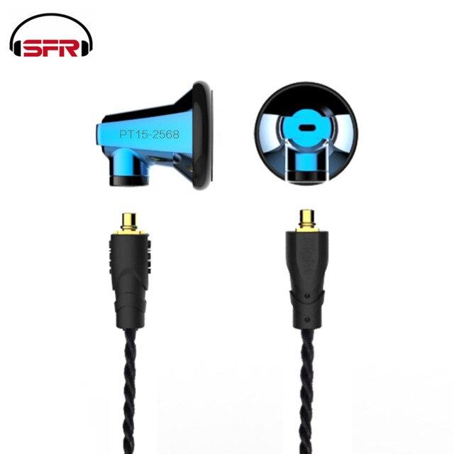SENFER PT15 graphène unité casque câble transférable avec micro basse lourde écouteurs musique universelle DT6 DT8 IE80 ZSN PT25 T2 IE80