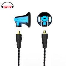 SENFER PT15 graphene, гарнитура, передаваемый кабель с микрофоном, тяжелые басы, универсальные музыкальные наушники DT6 DT8 IE80 ZSN PT25 T2 IE80