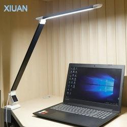 12W lampka led z klipsem lampa biurkowa 25 poziom jasności dotykowa regulacja ściemniania pielęgnacja oczu biurko światło dla praca W biurze studium biznesowe lampy zaciskowe