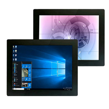 10.4  inch industrial touch panel pc core i3i5i7 embedded Resistive screen touch all in one pc 1024*768