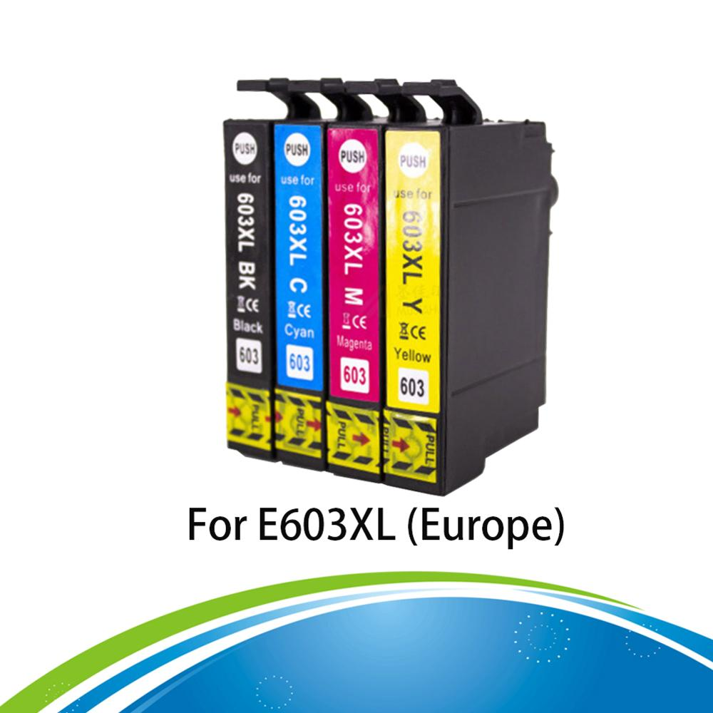 603XL Ink Cartridge 603 xl Compatible for <font><b>Epson</b></font> <font><b>XP</b></font>-<font><b>2100</b></font> <font><b>XP</b></font>-2105 <font><b>XP</b></font>-3100 <font><b>XP</b></font>-3105 <font><b>XP</b></font>-4100 <font><b>XP</b></font>-4105 WF-2810 WF-2830 WF-2850 Printer image