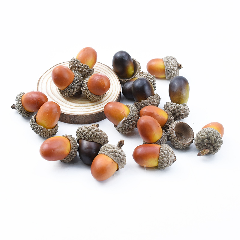 Wholesale Mini  Pine Cones Artificial Plants Fake Fruit And Vegetables Berries Flowers Wedding Christmas Tree Wedding Home Decor