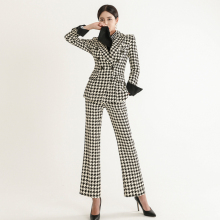 2piece set women professional pants suit new style OL temper