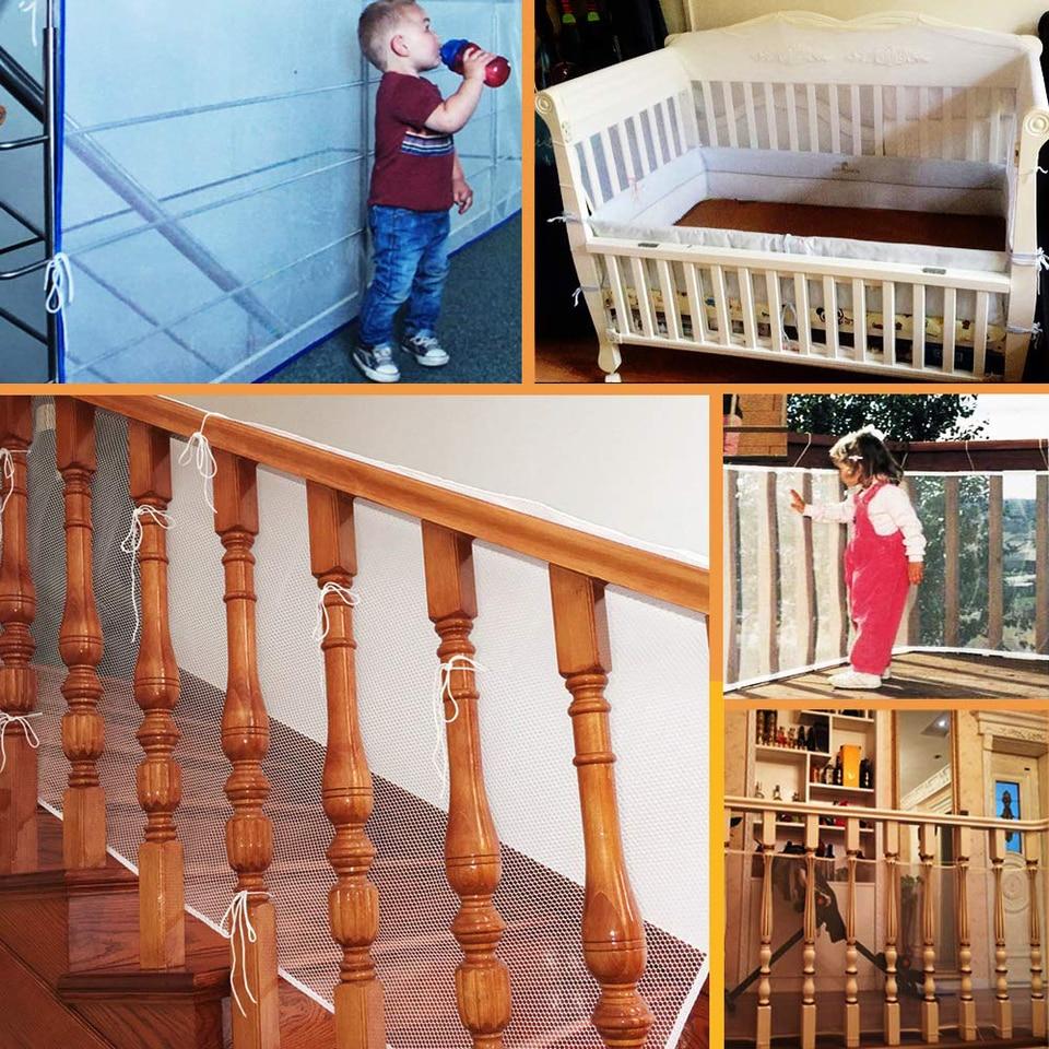Rete Per Balconi Bambini us $2.18 21% di sconto|capretti dei bambini di protezione scale recinzione  del bambino scala rete di sicurezza balcone recinzione di sicurezza del