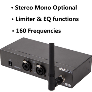 Image 2 - Pasgao PR90  stereo in ear monitor system wireless monitor system lightweight and small size 655 679MHZ