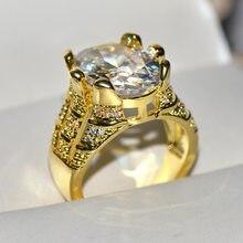 Doğal safir ve ametist taş gerçek 14 K sarı altın yüzük kadınlar için Anillos De Oval görünmez ayarı alyans
