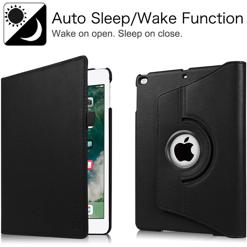 2020 7th Rotating 10.2 For iPad Flip Degree PU Leather 360 Cover 8th 2019 Case Stand
