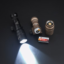 WADSN airsoft Tactical 950 Lumens Hunting Flashlight M300SF Single Fuel SCOUT LIGHT Two Control Kit Version (With SF LOGO)
